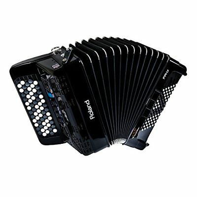Roland FR-1XB-BK V-Accordion Lite w/Speakers Button Black