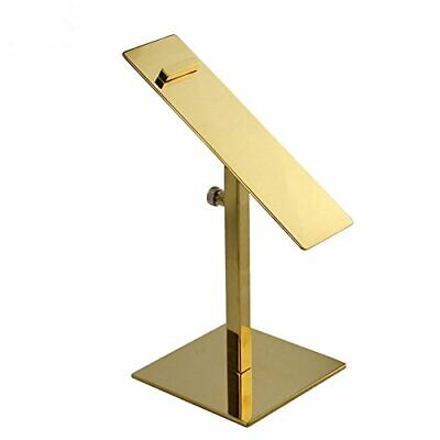 Iml Gold Stainless Steel Adjustable Shoe Display Stand Holder