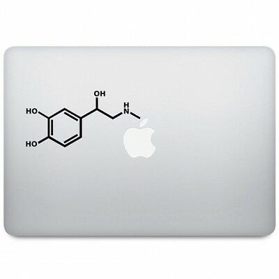 ADRENALINE Sticker Autocollant VINYL Decal Macbook Pro/Air/Retina 11