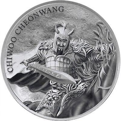 2018 Chiwoo Cheonwang South Korea 1 Oz Silver Bu Round Coin Pre Sale