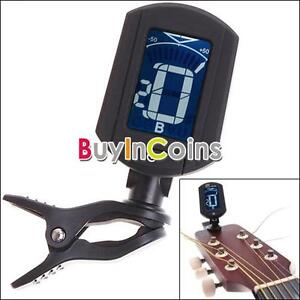 LCD-ENO-ET33-Mini-Clip-On-Digital-Chromatic-Guitar-Bass-Violin-Ukulele-Tuner-SY