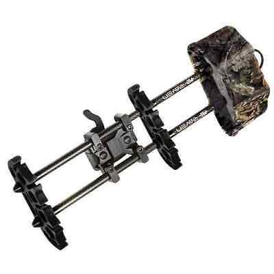 NEW PSE RAVEN BOW QUIVER MO COUNTRY CAMO 5 ARROW Archery W/TREE HANGER