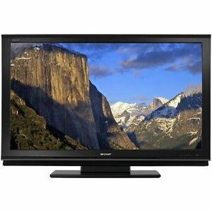 52 Inch Sharp Aquos TV (High end model LC-52D92U) With Cabinet
