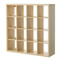 EXPEDIT Shelving Unit (4x4) BIRCH Ikea