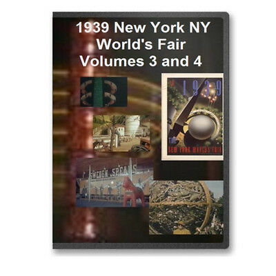 1939 New York NY World's Fair Complete 4 DVD Set - World of Tomorrow - A15-18 on Rummage