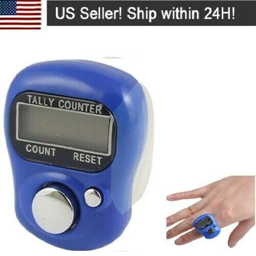 2Pack Digital Finger Ring Tally Counter Hand Held Knitting Row counter USA