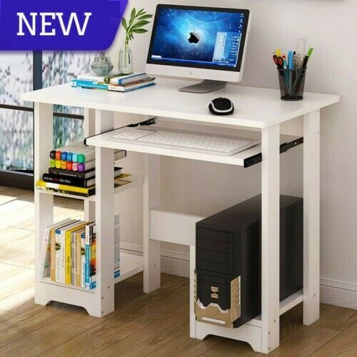 White Wood Desk With Hutch For Sale Online Ebay
