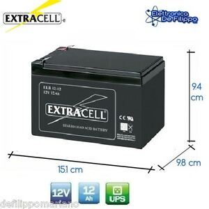 Batteria-Ermetica-Ricaricabile-al-Piombo-12V-Volt-12Ah-per-bici-elettriche