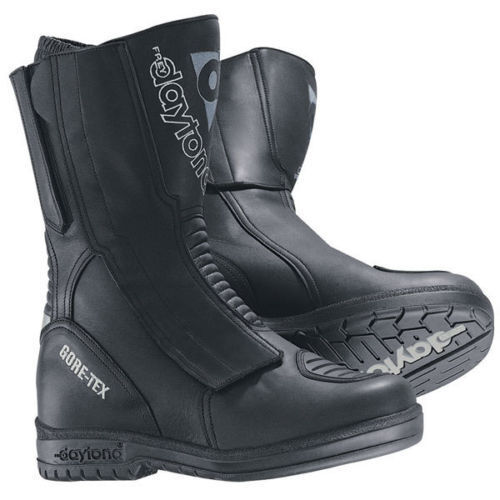 Leder Ganzj/ährig Daytona Boots Motorradschuhe Sportler Motorradstiefel kurz AC4 WD schwarz//wei/ß 42 Herren