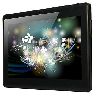 """7"""" A33 Google Android 4.4 Quad Core 8GB Capacitive Touch Scree Tablet PC WiFi"""
