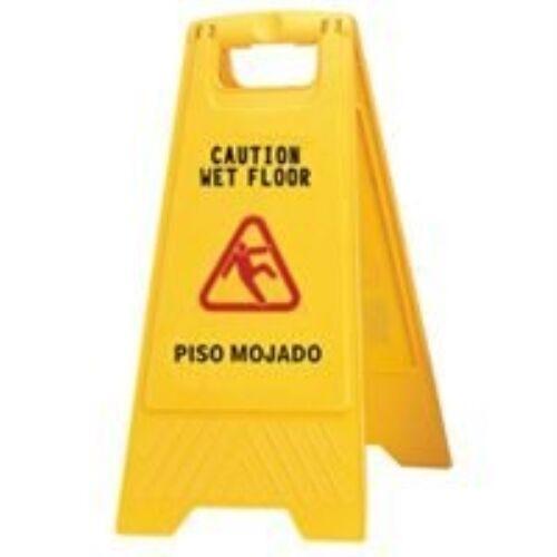 Sign Wet Floor 2 Sided