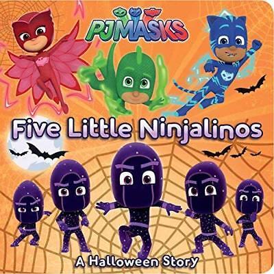 Halloween Story (Five Little Ninjalinos: A Halloween Story (PJ)