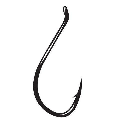 100 Matzuo 141010 Black Sickle Octopus Fish Fishing Hooks size 1-100 hooks