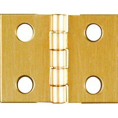 National Spectrum Brands Hhi N211 326 3 4 X 1 Inch Brass Hinge  4 Pack