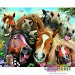 Full 5D Diamond Painting Crazy Horses 50 x 40 cm