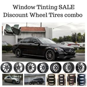 Open LATE All Mercedes models Weekends Window Tinting experience