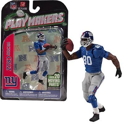 NFL Playmakers Series 3 Victor Cruz Giants 4in Action Figure McFarlane Toys