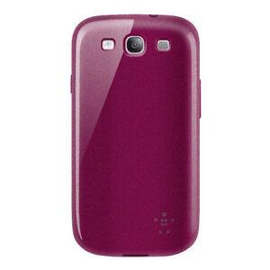 Belkin Samsung Galaxy S III Grip Case (F8M400TTC02)-Purple