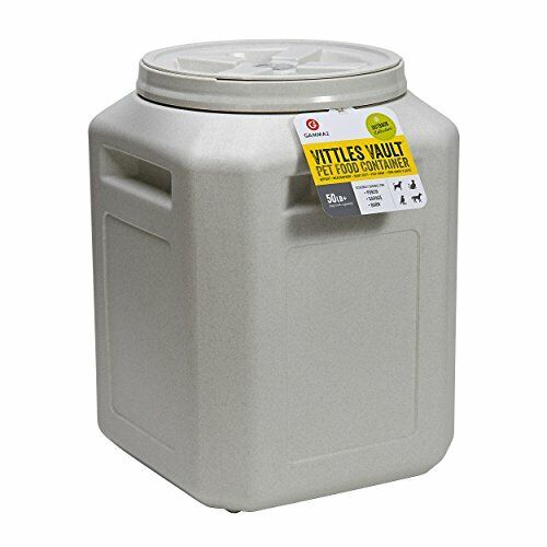 Airtight 50 LB Pet Food Container Storage Bin Animal Dog Cat Large Dry Bulk Bags