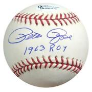 Signed Roy Baseball