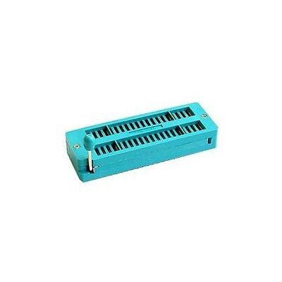 5pcs 40pin Universal Zif Socket For Dip Ic Mcu 40 Pin
