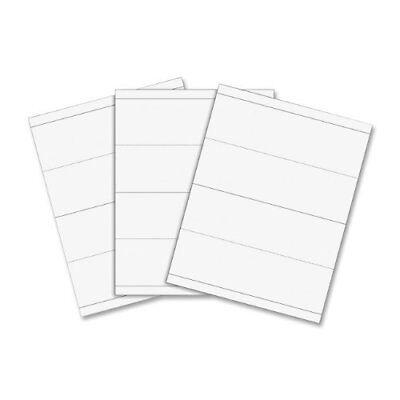 "C-line Tent Card - For Inkjet, Laser Print - Letter - 8.50"" X 11"" - 50 / Box -"