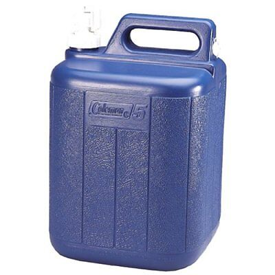 Coleman High Quality & Tough Polyethylene Blue Outdoor Water Carrier - 5 Gallons