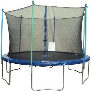 Jump Zone™ new 14' Round Trampoline with Enclosure