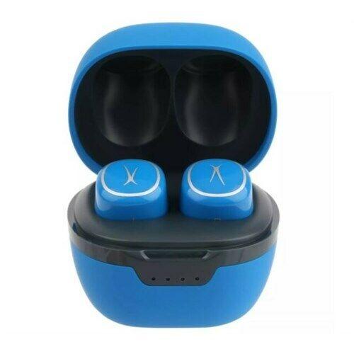 Altec Lansing Nano Pods Teal bluetooth headphone earbuds