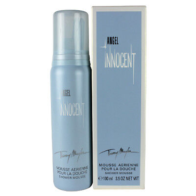 Angel Innocent by Thierry Mugler for Women Shower Mousse 3.5oz New In Box 3.5 Ounce Shower Mousse