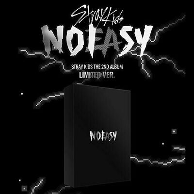 STRAY KIDS NOEASY 2nd Album LIMITED CD+2Photo Book+3 Photo Card+Pre-Order SEALED