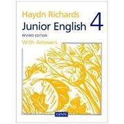 Haydn Richards Junior English