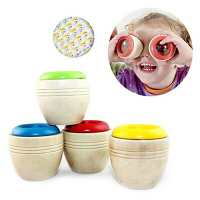 Best Wooden Kaleidoscope Baby Children Learning Educational Puzzle Sensory Toy  (Best Toddler Educational Toys)