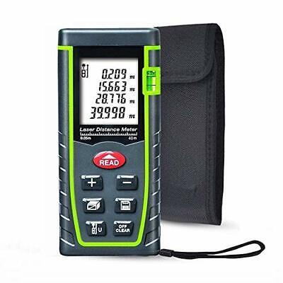 Iegeek Laser Distance Measure 131ft Handheld Minft Laser Distance Meter Measu