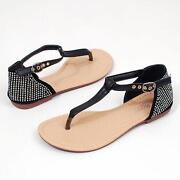 Womens Shoes Sandals Flats Size 9