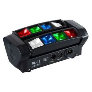 Mini spider rgbw led LIght moving Head dmx512