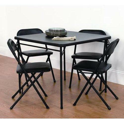 Folding Table And Chairs EBay