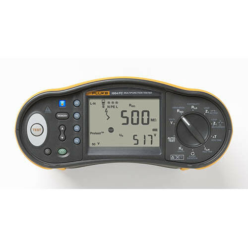 Fluke 1664 FC SCH Multifunction Installation Tester with Fluke Connect