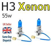 H3 Xenon Bulbs 55W