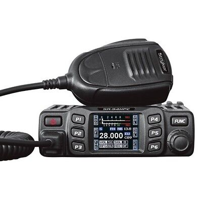 Stryker SR94HPC Slim 10 Meter Amateur Ham Mobile Radio AM w/ Blacklit Keys