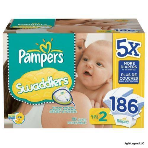Pampers Size 2 Disposable Diapers Ebay