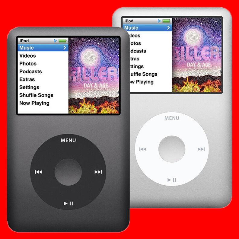 Ipod - »Brand New Apple iPod Classic 7th Generation Black or Silver 160GB Warranty«