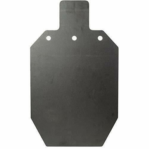 """KRATE Tactical 20 inch AR500 Steel Shooting Targets 3/8"""" Metal Silhouette Gun"""