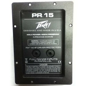 Peavey crossover pro audio equipment ebay peavey crossover 30501593 for the pr15 speakers genuine replacement pr 15 rx new publicscrutiny Choice Image