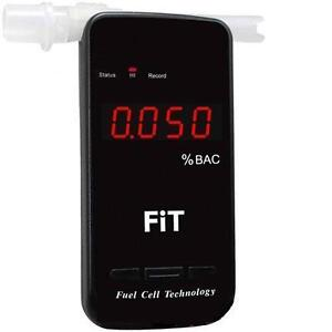 NEW FiT™ Fuel Cell Technology PRO Alcohol Breathalyser
