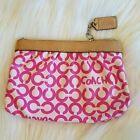 Coach Linen Handbag Accessories