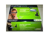 EyeTop Portable DVD Player and Video Glasses-Your own Portable Theatre!!