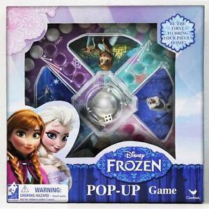 Disney Frozen Pop 'n Hop Frustration Childrens/Kids Popping Dice Board Game