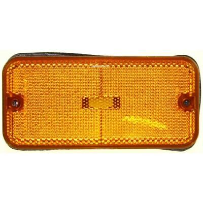 For Chevrolet G30 85-96, Front, LH=RH Side, Side Marker, Amber Lens (Chevrolet G30 Side Marker)