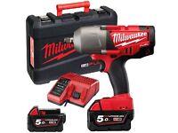 MILWAUKEE M18CHIWF12-502X IMPACT WRENCH GUN 5amp